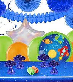 Rocket to Space Party Decoration Kit