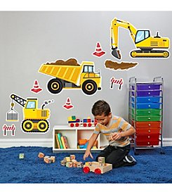 Construction Party Giant Wall Decals