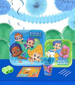Bubble Guppies 16 Guest Party Pack with Decoration Kit