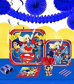 DC® Super Hero Girls 16 Guest Party Pack with Decoration Kit