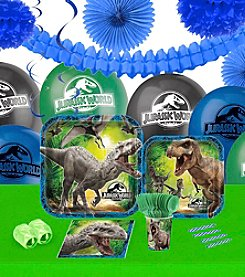 Jurassic World 16 Guest Party Pack with Decoration Kit