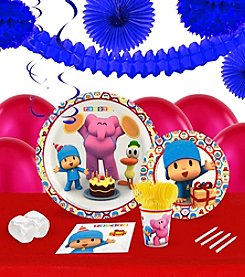 Pocoyo 16 Guest Party Pack with Decoration Kit