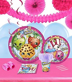 Shopkins 16 Guest Party Pack with Decoration Kit