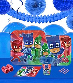 PJ Masks 16 Guest Party Pack with Decoration Kit
