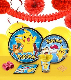 Pokemon® 16 Guest Party Pack with Decoration Kit