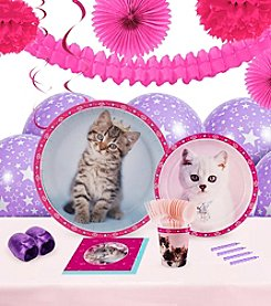 Rachael Hale Glamour Cats Party 16 Guest Party Pack with Decoration Kit