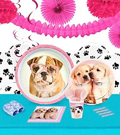 Rachael Hale Glamour Dogs Party 16 Guest Party Pack with Decoration Kit