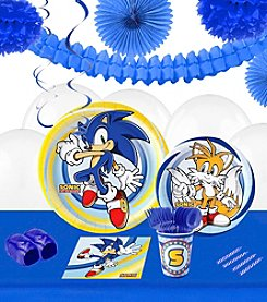 Sonic the Hedgehog™ Party 16 Guest Party Pack with Decoration Kit