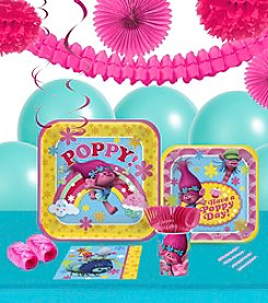 Trolls 16 Guest Party Pack with Decoration Kit