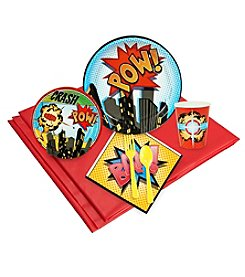 Superhero Comics Party 24 Guest Party Pack