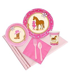 Western Cowgirl Party 24 Guest Party Pack