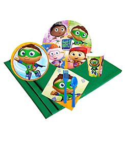 Super Why! 24 Guest Party Pack