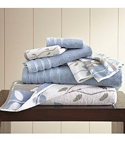 Pacific Coast® 6-Piece Yarn Dyed Organic Vines Towel Collection