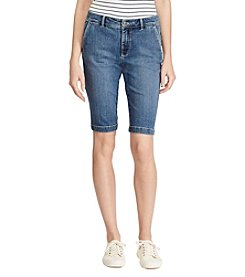 Lauren Ralph Lauren® Stretch Denim Shorts