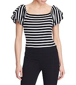Lauren Ralph Lauren® Striped Off The Shoulder Top