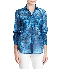Lauren Ralph Lauren® Tie Dye Button Up Shirt