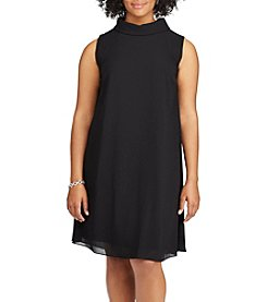 Chaps® Plus Size Mock Neck Dress