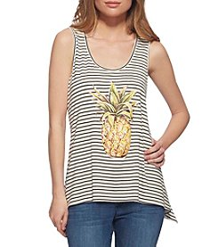 Jessica Simpson Pineapple Sharkbite Tank