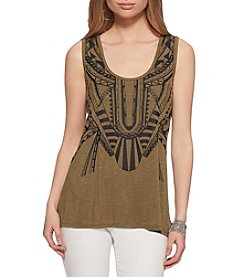 Jessica Simpson Scoop Neck Tank
