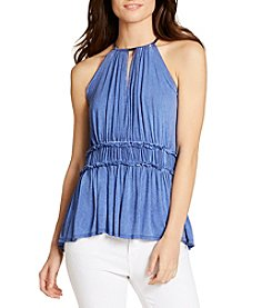 William Rast® Bentley Empire Halter Top