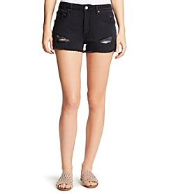 William Rast® Destroyed Denim Shorts