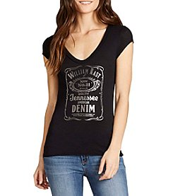 William Rast® Viva - Jack Daniels Whiskey Graphic Tee