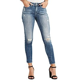 Silver Jeans Co. Mazy Destructed Ankle Jeans