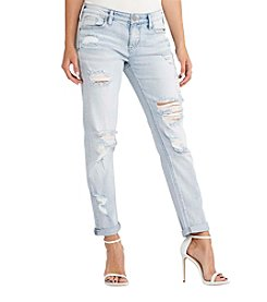 Silver Jeans Co. Delancey Destructed Jeans
