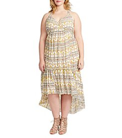 Jessica Simpson Plus Size High-Low Dress