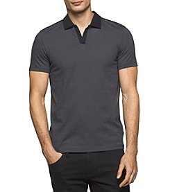 Calvin Klein Men's Liquid Jersey Polo Shirt
