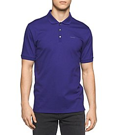 Calvin Klein Men's Short Sleeve Liquid Jersey Polo Shirt