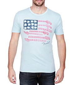 Lucky Brand® Men's Fender Flag Graphic Tee