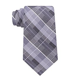 John Bartlett Men's Light Plaid Tie