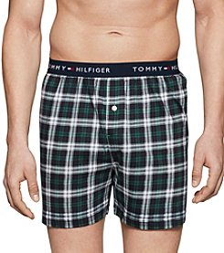 Tommy Hilfiger Men's Pine Plaid Boxers