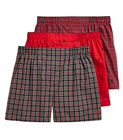 Polo Ralph Lauren® Men's 3-Pack Classic Boxers