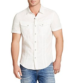 William Rast® Men's Short Sleeve Denim Shirt