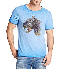 William Rast® Men's Short Sleeve Lion Creature Tee