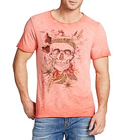 William Rast® Men's Short Sleeve Island Skull Tee