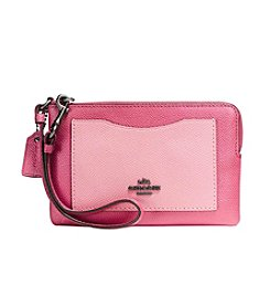 COACH SMALL WRISTLET IN COLORBLOCK LEATHER