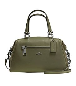 COACH PRIMROSE SATCHEL IN MIXED LEATHER