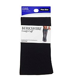 Berkshire® Plus Size Opaque Graduated Compression Trouser Socks