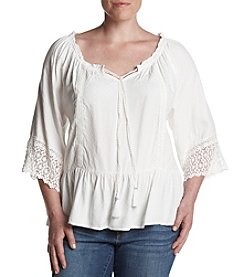 Democracy Plus Size Off The Shoulder Top