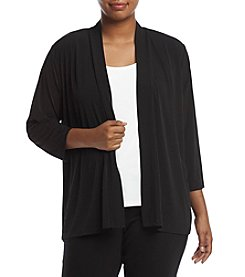 Kasper Plus Size Open Jacket