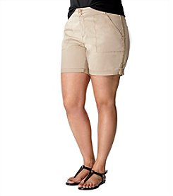 Gloria Vanderbilt® Plus Size Maren Shorts