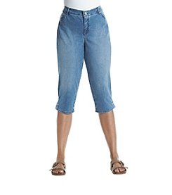 Gloria Vanderbilt® Plus Size Plus Capri Denim Pants