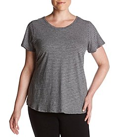 Calvin Klein Performance Plus Size Stripe Tee
