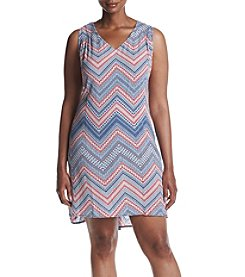 Studio Works® Plus Size Printed Dress