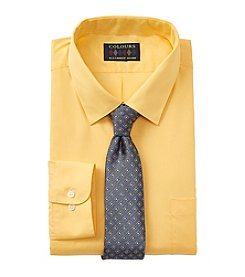 Alexander Julian® Men's Big & Tall Shirt And Tie
