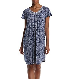 Aria® Printed Short Nightgown