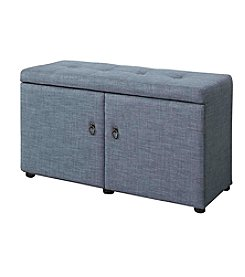 Ore International™ Shoe Storage Ottoman